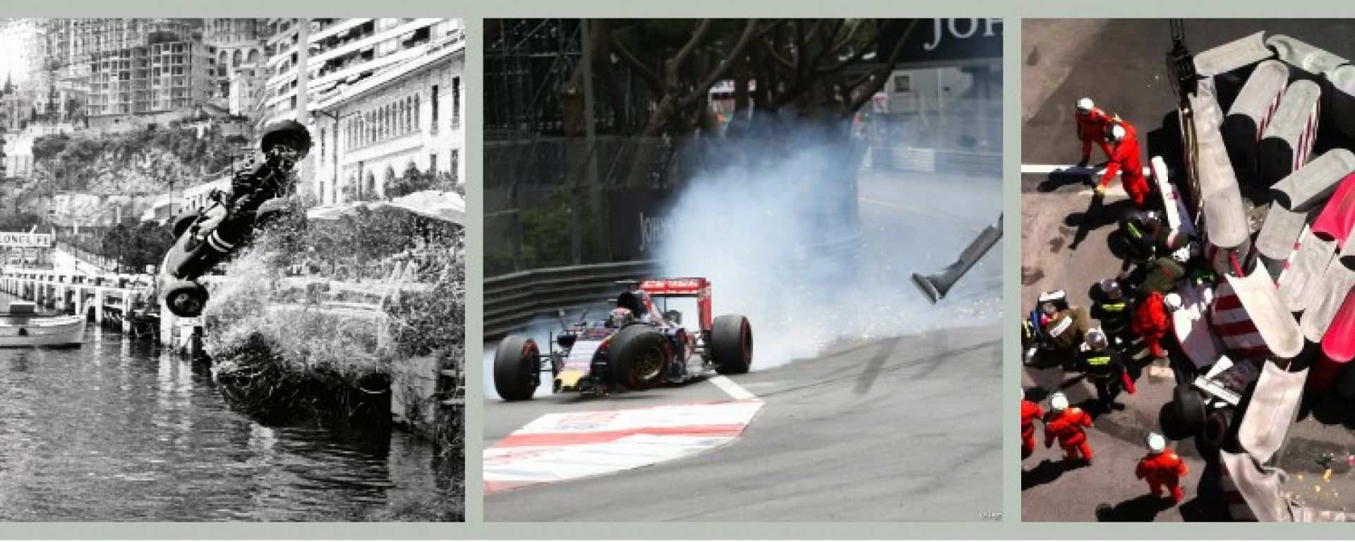 F1 GP Monaco: 6 incidenti per i 6 vincitori del Principato