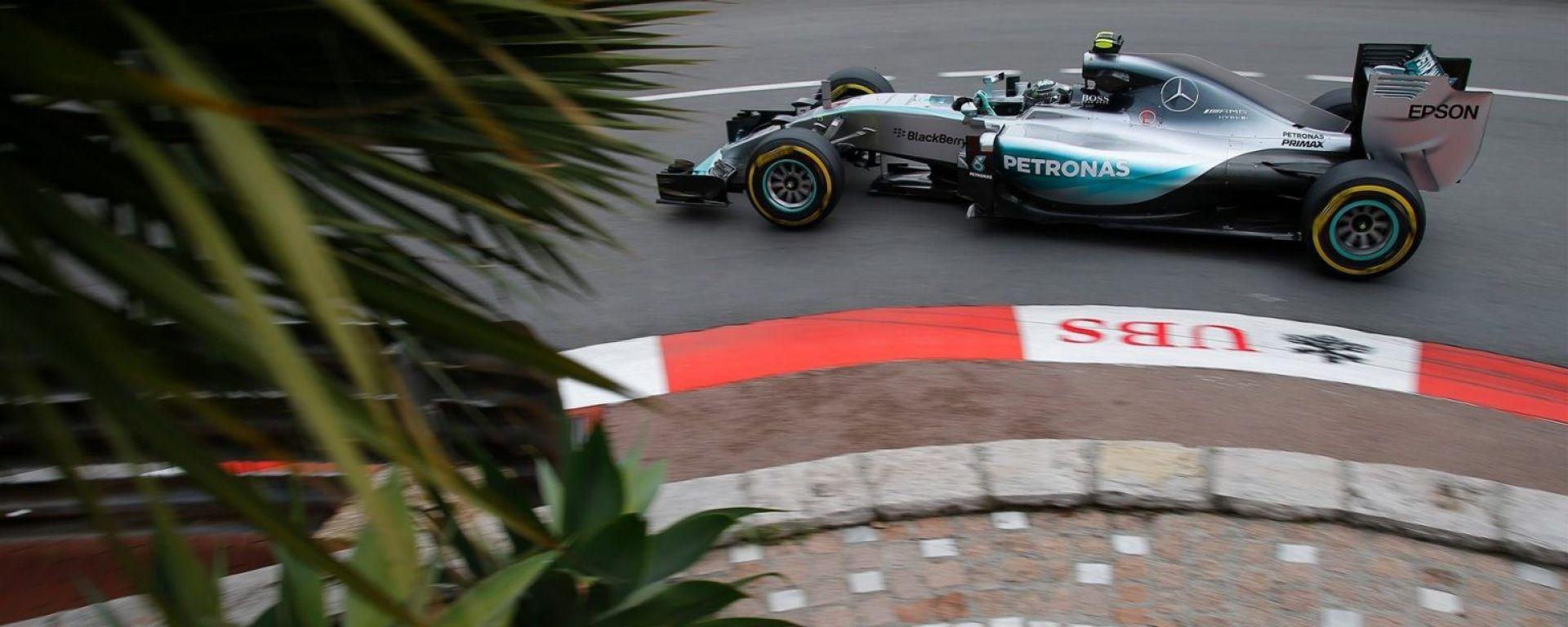 F1 2016 Gp Monaco: Mercedes alla ribalta