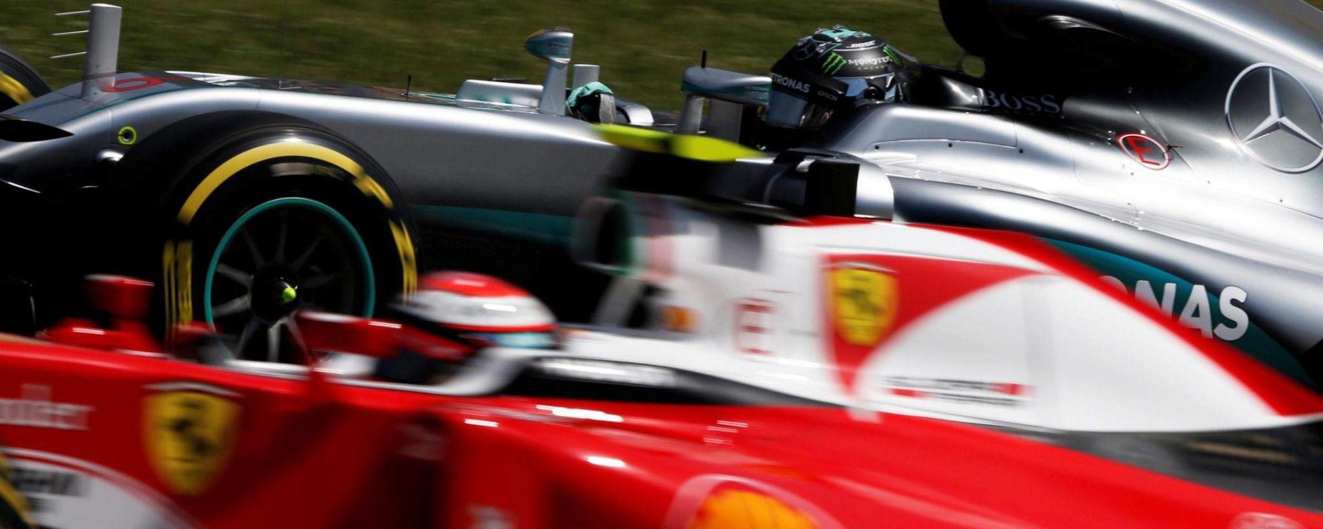 F1 2016 GP Spagna: Mercedes in pole, Hamilton il più veloce, flop Ferrari