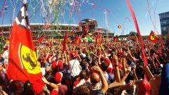 F1 2016 - Il podio del GP d'Italia in tutta la sua bellezza