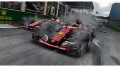 F1 2017, Ferrari in lotta sul bagnato