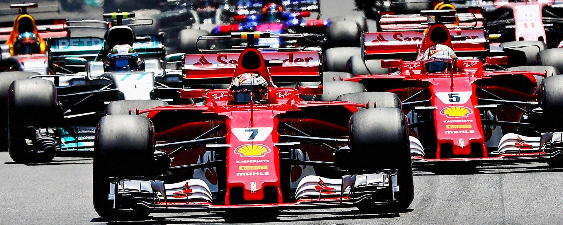 F1 2017: gli highlight della stagione 2017 in video