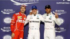 F1 2017 GP Abu Dhabi, i primi tre