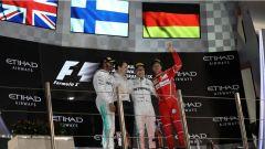F1 2017 GP Abu Dhabi, il podio