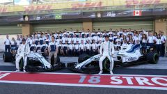 F1 2017 GP Abu Dhabi, il team Williams