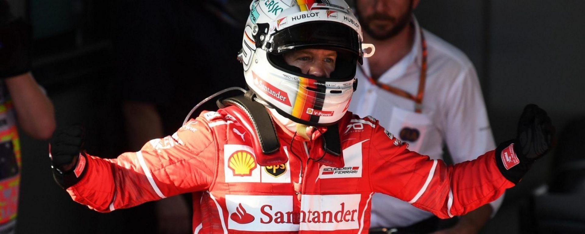 F1 2017 GP Australia Sebastian Vettel