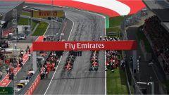 F1 2017 GP Austria, griglia di partenza