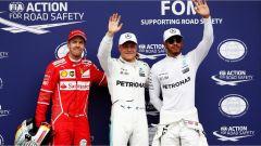 F1 2017 GP Austria, i primi tre