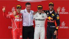F1 2017 GP Austria, il podio