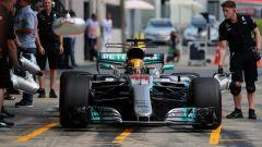 F1 2017, GP Austria, prove libere: Lewis Hamilton il più veloce del venerdì, Vettel secondo a inseguire