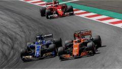 F1 2017 GP Austria, McLaren contro Sauber