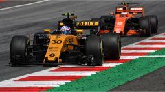 F1 2017 GP Austria, Renault contro McLaren