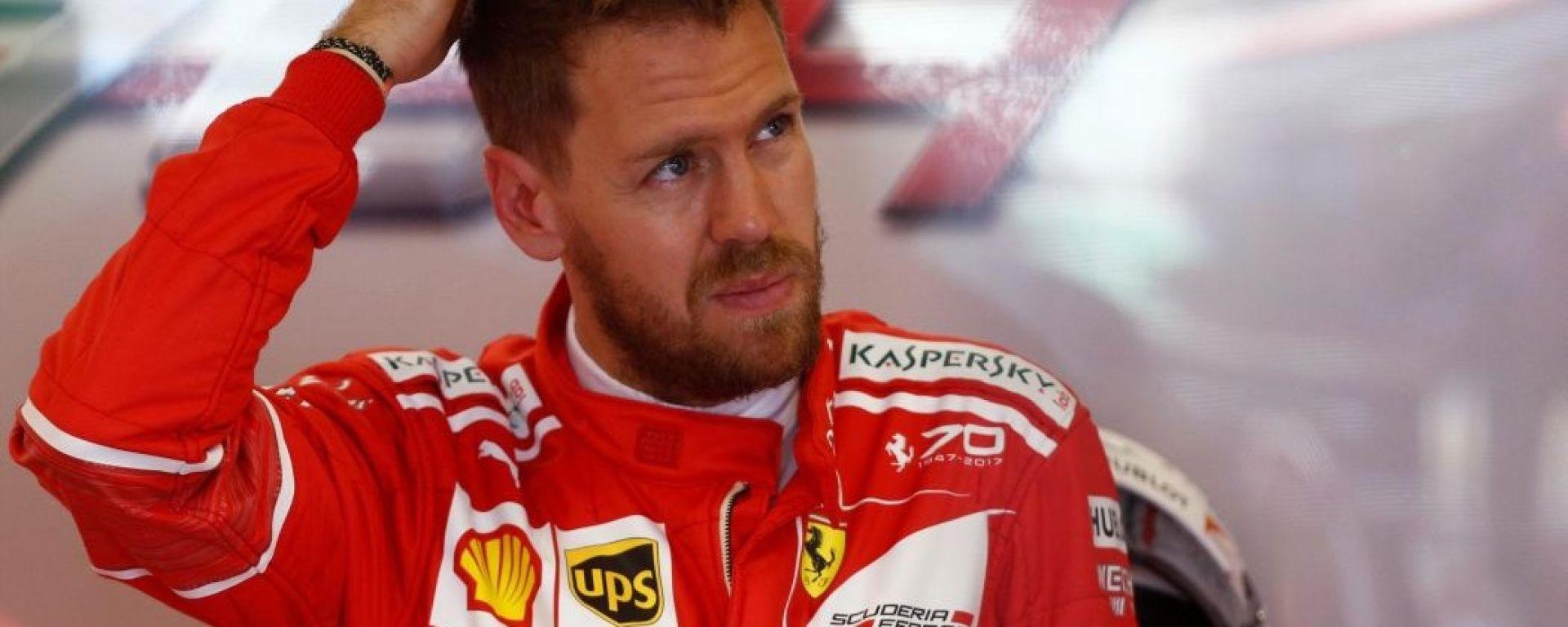 F1 2017 GP Austria, Sebastian Vettel