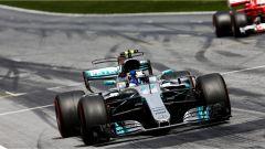 F1 2017 GP Austria, Valtteri Bottas al traguardo