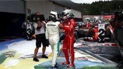 F1 2017 GP Austria, Valtteri Bottas e Sebastian Vettel