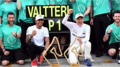 F1 2017 GP Austria, vittoria di Valtteri Bottas