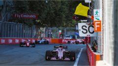 F1 2017 GP Azerbaijan, azione di gara