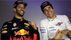 F1 2017 GP Azerbaijan, Daniel Ricciardo e Lance Stroll