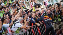 F1 2017 GP Azerbaijan, Daniel Ricciardo in festa