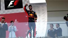 F1 2017 GP Azerbaijan, Daniel Ricciardo sul podio