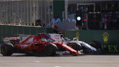 F1 2017 GP Azerbaijan, Felipe Massa e Sebastian Vettel