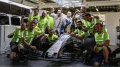 F1 2017 GP Azerbaijan, festa alla Williams