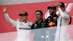 F1 2017 GP Azerbaijan, il podio di Baku