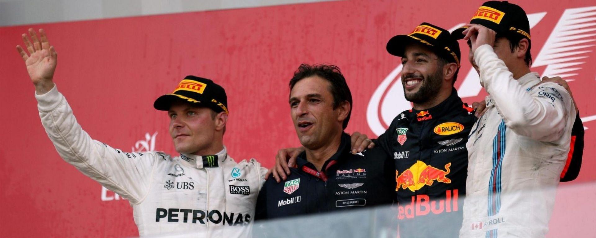 F1 2017 GP Azerbaijan, il podio