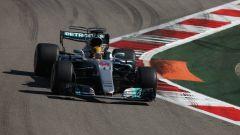 F1 2017 GP Azerbaijan, Lewis Hamilton