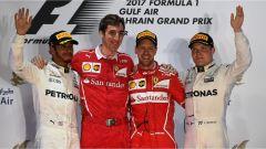 F1 2017 GP Bahrain, il podio