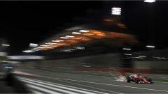 F1 2017 GP Bahrain, Sebastian Vettel in azione