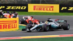 F1 2017 GP Belgio, Hamilton contro Vettel