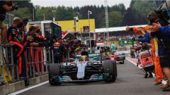 F1 2017 GP Belgio, Hamilton vince a Spa-Francorchamps