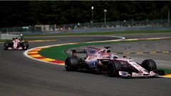 F1 2017 GP Belgio, le Force India di Perez e Ocon
