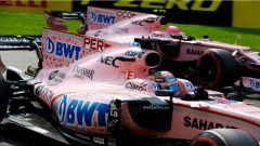 F1 2017 GP Belgio, le Force India in azione