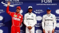 F1 2017 GP Belgio, Lewis Hamilton al parco chiuso