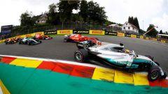 F1 2017 GP Belgio, prima curva