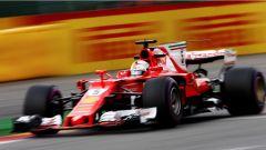 F1 2017 GP Belgio, Sebastian Vettel