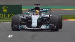 F1 2017, GP Belgio, prove libere: Lewis Hamilton mette le ali alla sua Mercedes, ma la Ferrari è vicina
