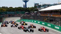 F1 2017 GP Brasile, la partenza