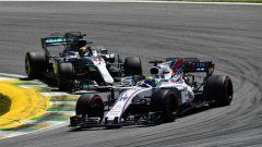 F1 2017 GP Brasile, Massa contro Hamilton