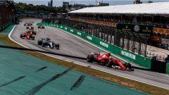 F1 2017 GP Brasile, prima curva