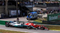 F1 2017 GP Brasile, Vettel contro Bottas