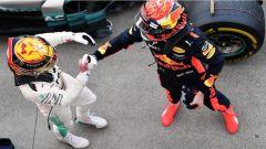 F1 2017 GP Giappone, Hamilton e Verstappen