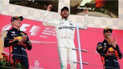 F1 2017 GP Giappone, il podio di Suzuka
