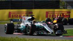 F1 2017 GP Giappone, Lewis Hamilton in azione