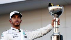 F1 2017 GP Giappone, Lewis Hamilton primo in Giappone