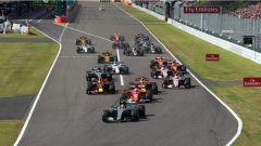 F1 2017 GP Giappone, partenza
