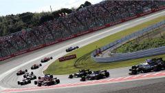 F1 2017 GP Giappone, prima curva