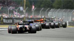 F1 2017 GP Inghilterra, azione in pista (2)